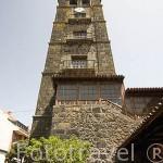 La torre de la iglesia de la Concepción, finales S.XVI- XVIII. SAN CRISTOBAL DE LA LAGUNA. Patrimonio UNESCO. Tenerife. Islas Canarias. España