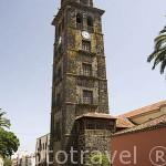 La torre de la iglesia de la Concepción, finales S.XVI- XVIII. SAN CRISTOBAL DE LA LAGUNA. Patrimonio UNESCO. Tenerife. Islas Canarias. España