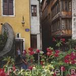 Centro historico de ANNECY. Alta Saboya. Rhones Alpes. Francia.