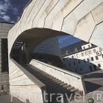 El moderno centro Espace Malraux. En la calle de La Republique. Ciudad de CHAMBERY. Rhones Alpes. Francia