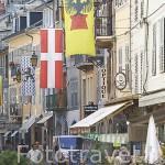 Calle Croix D´Or. Centro historico de la ciudad de CHAMBERY. Rhones Alpes. Francia