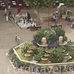 Plaza M. Mollard. En AIX LES BAINS. Saboya. Rhones Alpes. Francia