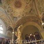 Interior del Casino. estilo Art Nouveau. Ciudad de AIX LES BAINS. Saboya. Rhones Alpes. Francia