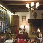Salon. Hotel Chalais du Mont d´Abois. Cadena Relais & Chateaux. Fundado por Noemie Rothschild. MEGEVE. Valle de Arly. Alta Saboya. Rhones Alpes. Francia