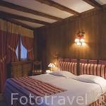 Habitacion del hotel Au Coeur de Megeve. MEGEVE. Valle de Arly. Alta Saboya. Rhones Alpes. Francia