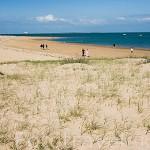Playa de la poblacion de BOYARDVILLE. Isla de Oleron. Francia