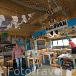 Restaurante Les Relais des Salines. En LE PORT DES SALINES. Isla de Oleron. Francia