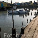 Puerto pesquero y ostricola de LE CHATEAU D´OLERON. Isla de Oleron. Francia