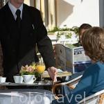 Desayuno en hotel Les Cleunes. SAINT TROJAN. Isla de Oleron. Francia