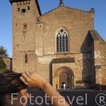 Abadia de la poblacion de Gaillac (Galhac en occitano). Tarn. Francia