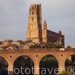 Catedral de Sainte Cecile. S.XIII al XIV. Patrimonio de la Humanidad, UNESCO. Ciudad de Albi. Tarn. Francia