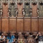 El Coro, finales del S.XV. Catedral de Sainte Cecile. Patrimonio de la Humanidad, UNESCO. Ciudad de Albi. Tarn. Francia