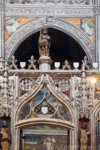 Catedral de Sainte Cecile. Patrimonio de la Humanidad, UNESCO. Ciudad de Albi. Tarn. Francia