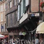Calle. Ciudad de Albi. Tarn. Francia