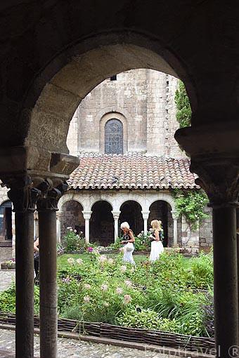 Antiguo claustro de Saint Salvy. Ciudad de Albi. Tarn. Francia