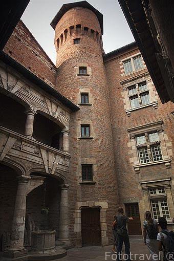 Torre del Hotel Reynes, antiguo comerciante de Glasto. Ciudad de Albi. Tarn. Francia
