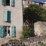 Pueblo medieval de Cordes Sur Ciel. Tarn. Francia