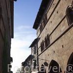 Palacete gotico Gaugiran.S.XIII. Pueblo medieval de Cordes Sur Ciel. Tarn. Francia