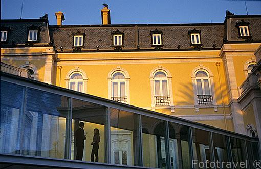 Fachada del hotel Carlton Palace. Barrio Alto de Santo Amaro. LISBOA. Portugal