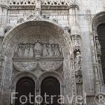 Iglesia en el barrio de Alfama. Ciudad de LISBOA. Portugal