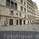 Edificio en el barrio de Alfama. Ciudad de LISBOA. Portugal
