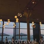Interior del restaurante Bica do Sapato. En Avda. Infante D. Enrique. Ciudad de LISBOA. Portugal