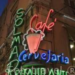 Restaurante Solmar en calle Rua das Portas de Santo Antao. LISBOA. Portugal