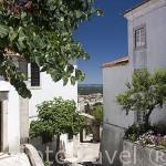 El pueblo amurallado de OUREM. Portugal