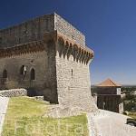 Un torreon del castillo de OUREM. Portugal