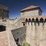 Torreones del castillo de OUREM. Portugal