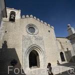 Iglesia junto a la Pousada del castillo de Pamela. PALMELA. Portugal