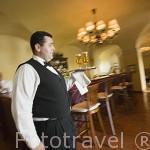 Bar y restaurante. Pousada del castillo de Pamela. PALMELA. Portugal