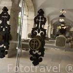 Puertas de entrada. Pousada del castillo de Pamela. PALMELA. Portugal