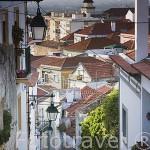Calle Rua do Arrabalde. Poblacion de PALMELA. Portugal