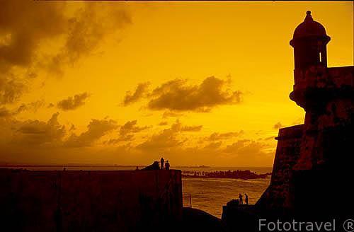 Castillo de San Felipe, El Morro. Viejo SAN JUAN. Puerto Rico
