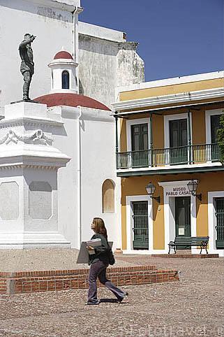 Museo Pablo Casals en la Plaza de San José.Ciudad vieja de SAN JUAN. Puerto Rico