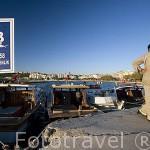 Puerto de pescadores de la ciudad de CANAKKALE. Mar Egeo. Turquia