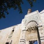Fachada de la mezquita del Sultan Isa Bey, 1375. Sultan selyucida. Cerca de las ruinas de EFESO / EPHESUS. Egeo. Turquia