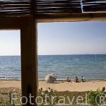 Playa de Kumsal, cerca de Didima. Mar Egeo. Turquia