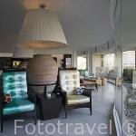 Interior del hotel The Marmara. Ciudad de BODRUM, antigua Halicarnaso. Costa del mar Egeo. Turquia
