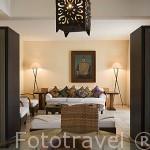 Habitación suite. Hotel The Marmara. Ciudad de BODRUM, antigua Halicarnaso. Costa del mar Egeo. Turquia