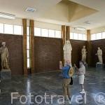 Esculturas. Interior del museo de Afrodisias. Ciudad de AFRODISIAS / APHRODISIAS, en el monte de Baba Dagi. Egeo. Turquia