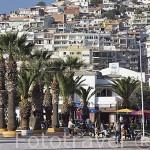 Paseo maritimo de la ciudad de KUSADASI. Mar Egeo.Turquia