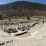 El Odeum o pequeño teatro. 150 d.C. Ruinas de EFESO / EPHESUS. Egeo. Turquia