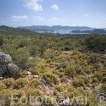Paisaje montañoso cerca de UCAGIZ. Provincia de Antalya. Turquia