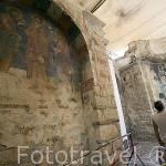 Interior de la iglesia de San Nicolas, donde se conserva su sepulcro del s.III a.C. En DEMRE. Provincia de Antalya. Turquia
