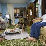 Vivienda de la familia del Sr. N. Keskin, de religión musulmana preparando la cena de ramadan. Cerca de DEMRE. Provincia de Antalya. Turquia