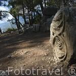 Calzada que conducia al puerto. Ruinas de la ciudad de PHASELIS. Fundada en el 690 a.C. Provincia de Antalya. Turquia