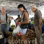 Mercado del puerto. Ciudad de ANTALYA. Provincia de Antalya. Turquia