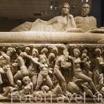 Sacorfago encontrado en PERGE. Museo de la ciudad de ANTALYA. Turquia